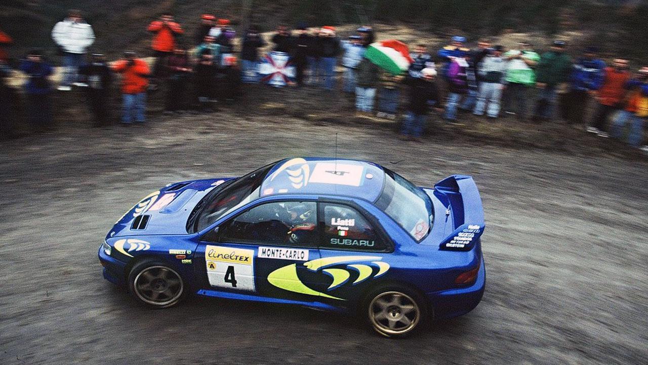 Субару Импреза на World Rally Car