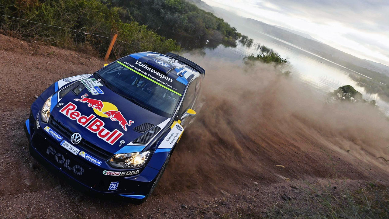 VW RedBull FIA WRC (World Rally Championship)