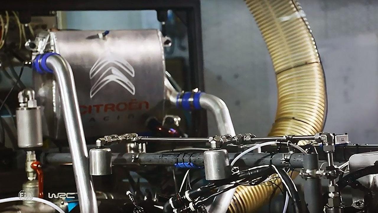 Гоночный двигатель Ситроен