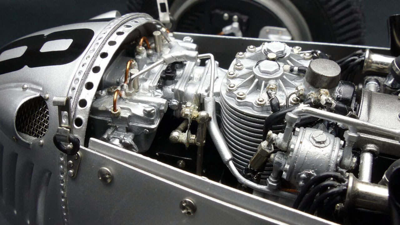 Двигатель ML-C008