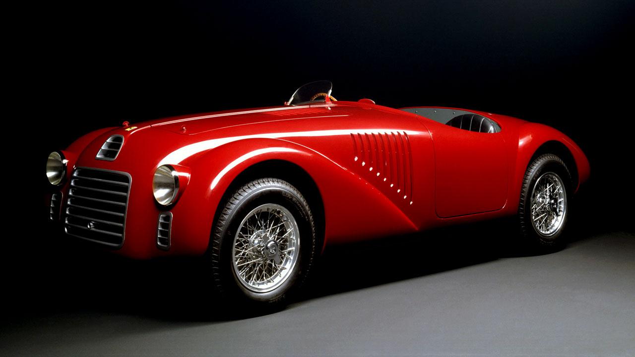 Ferrari 125 Вид спереди