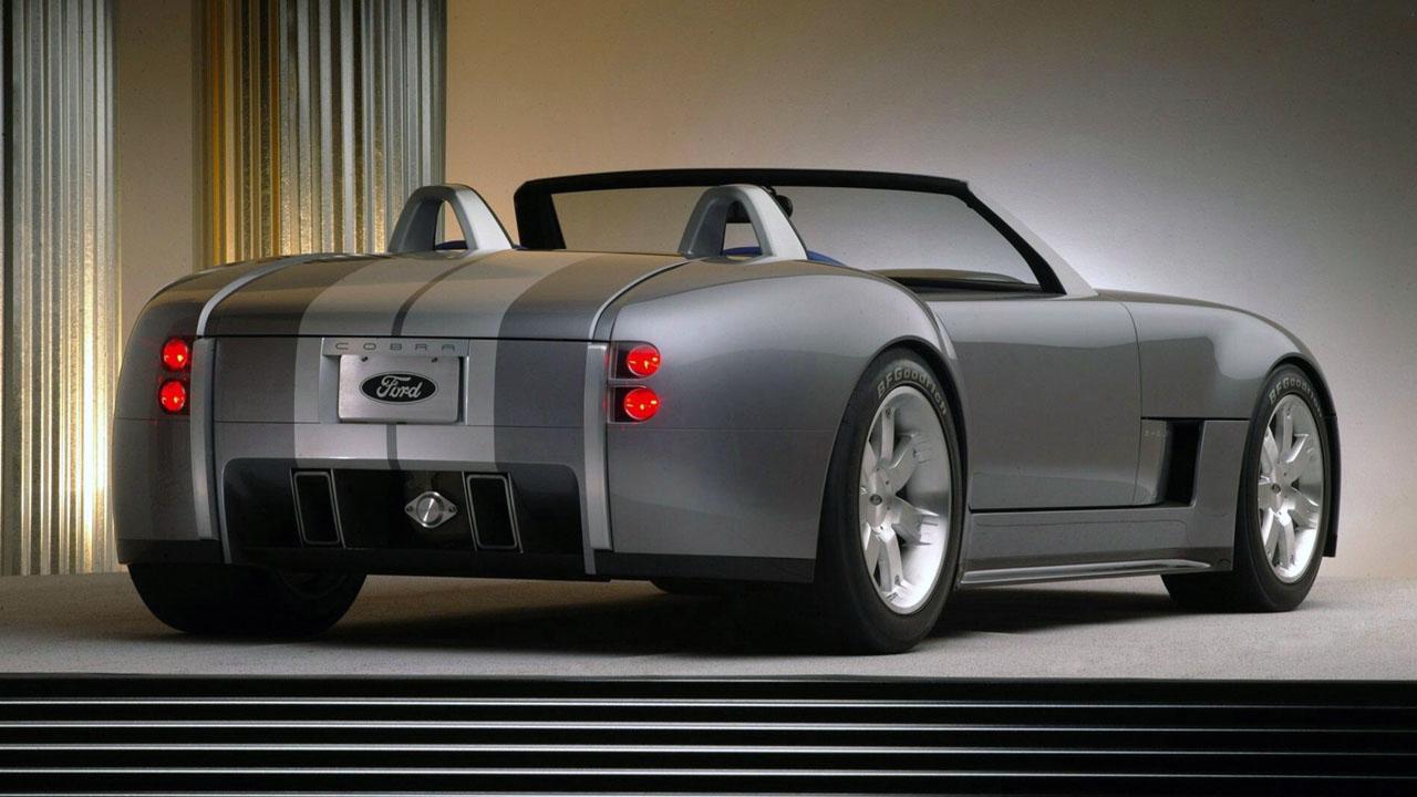 Shelby Concept Сзади