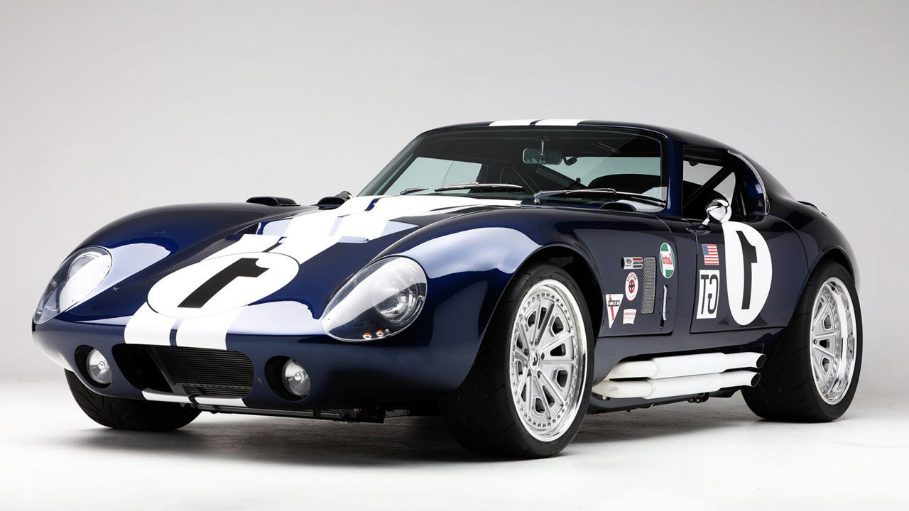 Shelby Daytona Coupe 1963 Вид Спереди Под Углом