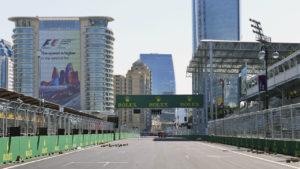 Стартовая прямая Baku City Circuit