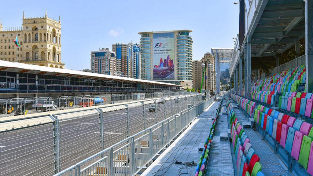 Трибуны Baku City Circuit
