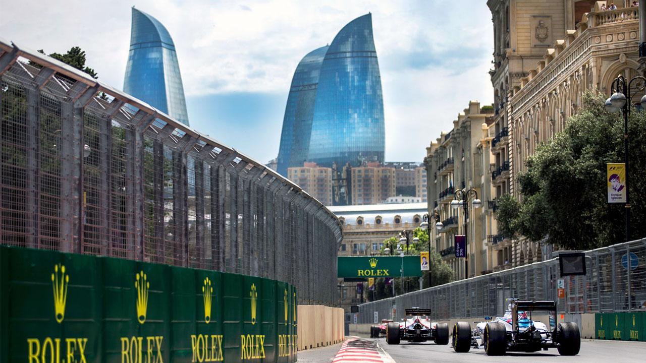 Уличная трасса Баку