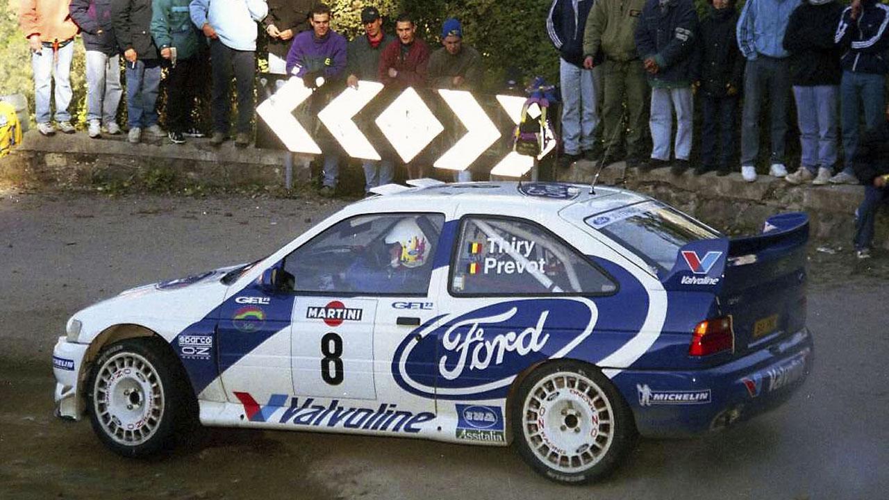 Ford Escort на ралли Санремо