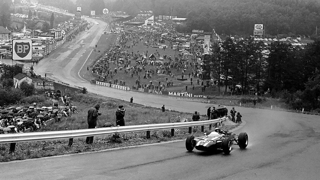 Jochen Rindt на автодроме в Спа