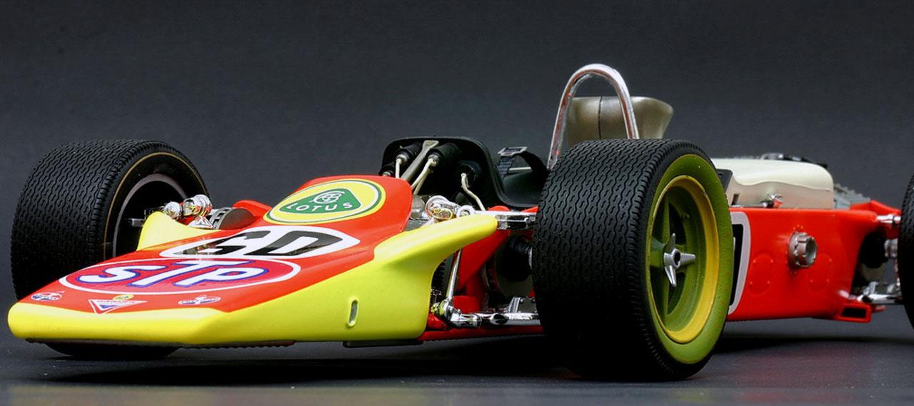 Lotus 56 F1 Вид спереди