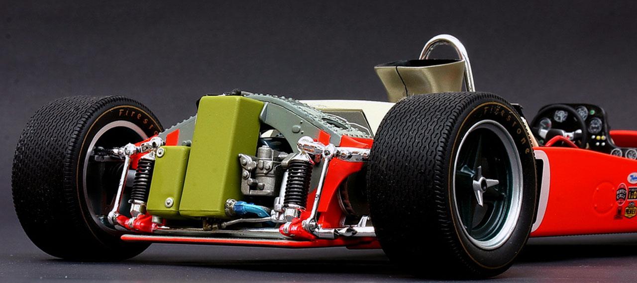Lotus 56 F1 Вид сзади