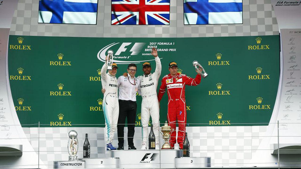 Подиум Формулы 1