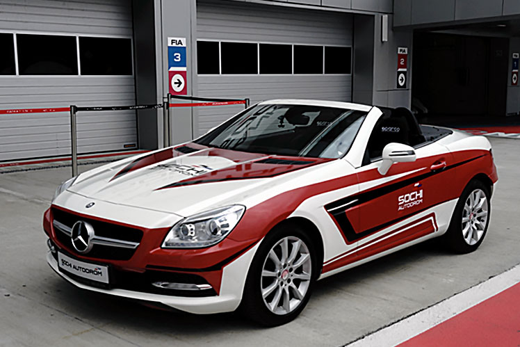Race Taxi Mercedes