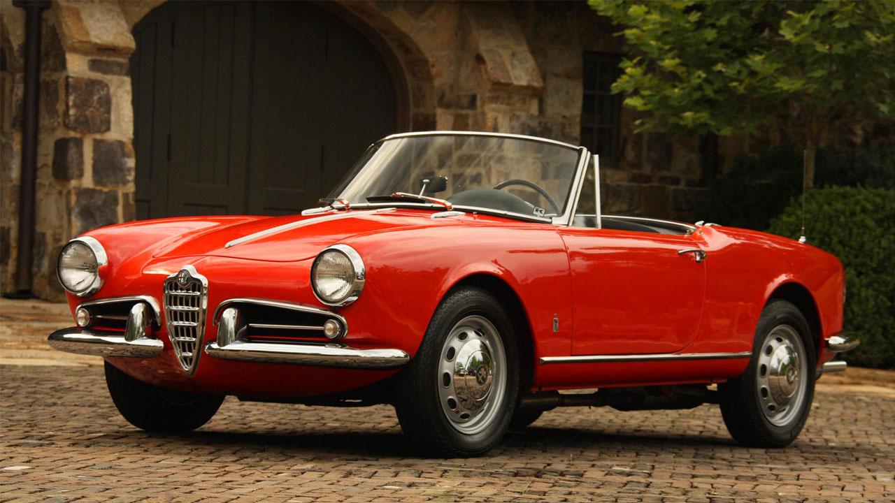 1956 Alfa Roфmeo Giulietta Spider
