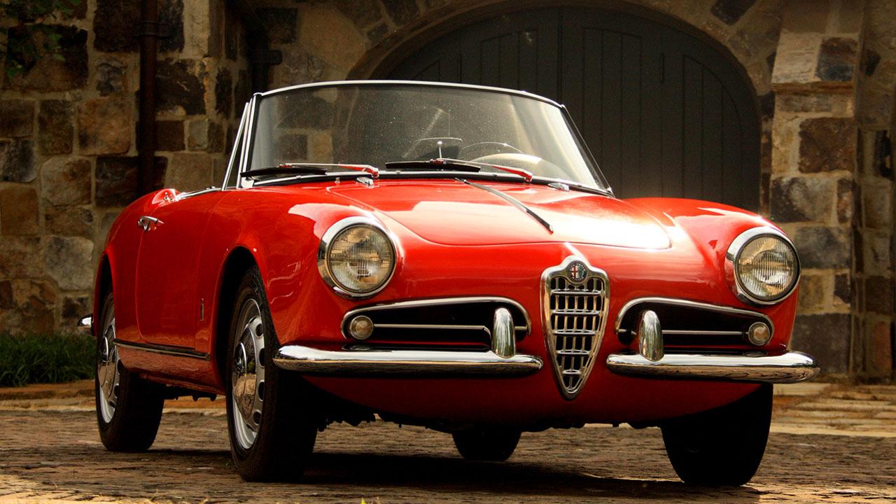 1956 Giulietta Spider