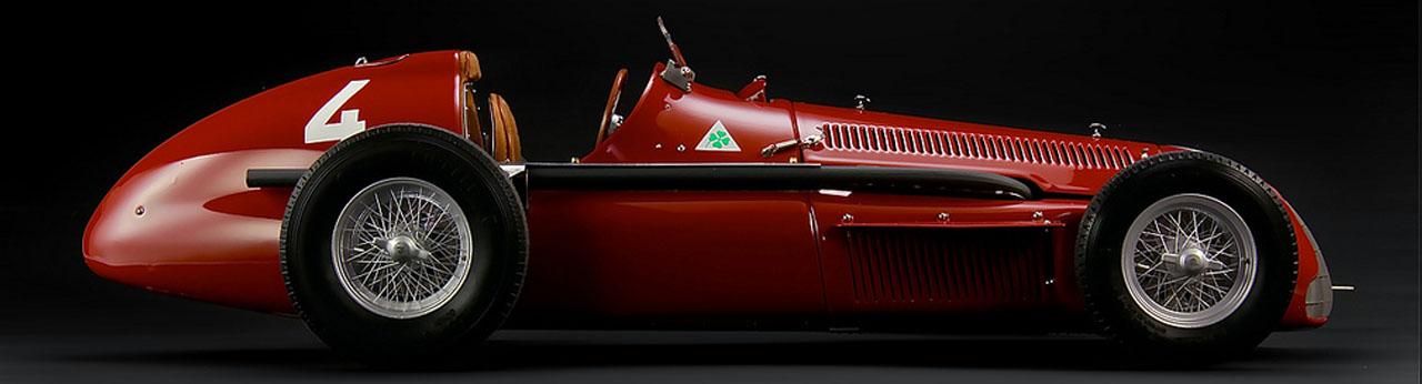 Alfa Romeo 1951 Alfetta Tipo 159 Правый Бок