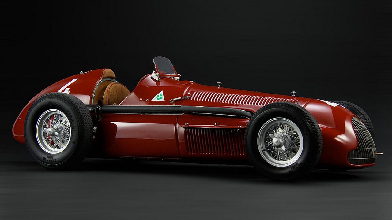 Alfa Romeo 1951 Alfetta Tipo 159 Сбоку