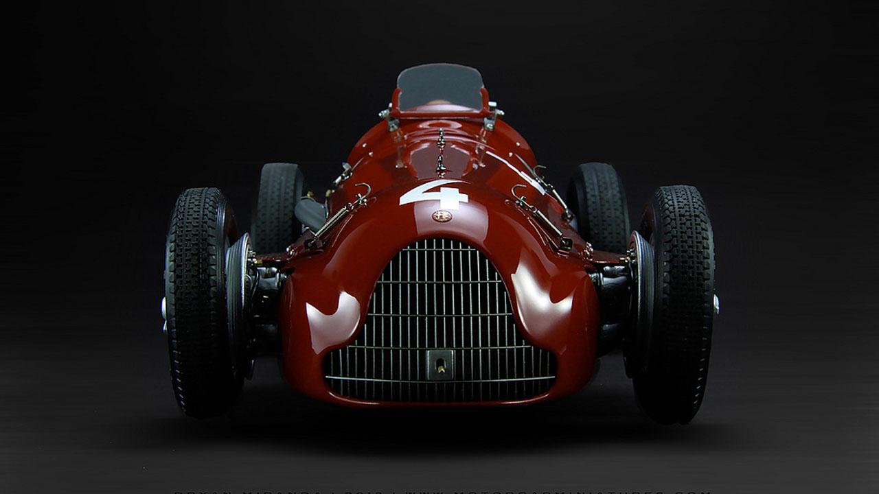 Alfa Romeo 1951 Alfetta Tipo 159 Вид спереди