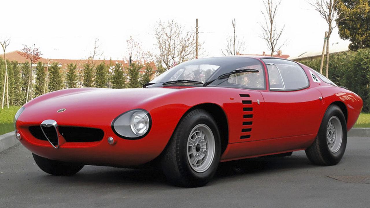 Alfa-Romeo Canguro Bertone, 1964