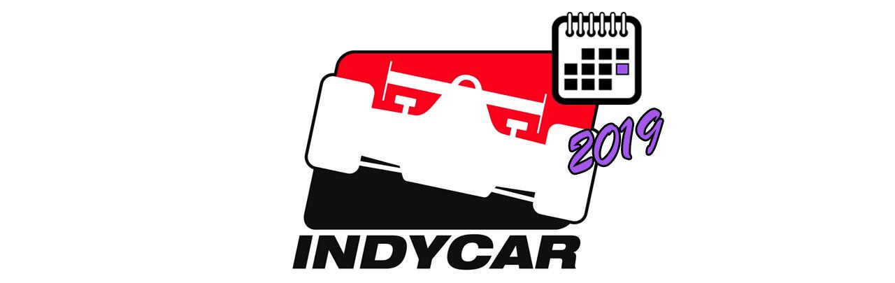 Большой Логотип календаря IndyCar 2019