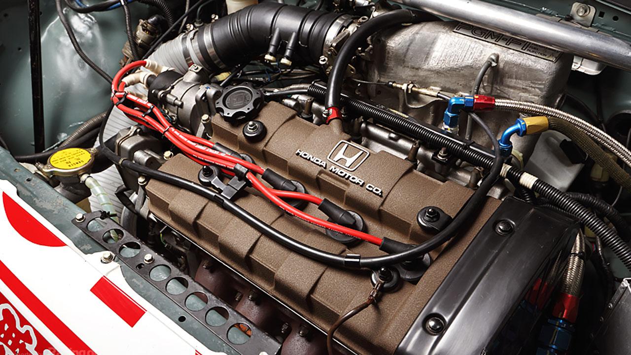 Двигатель MUGEN MOTUL CIVIC SI