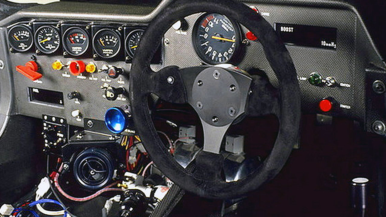 Интерьер Toyota Minolta 88C-V