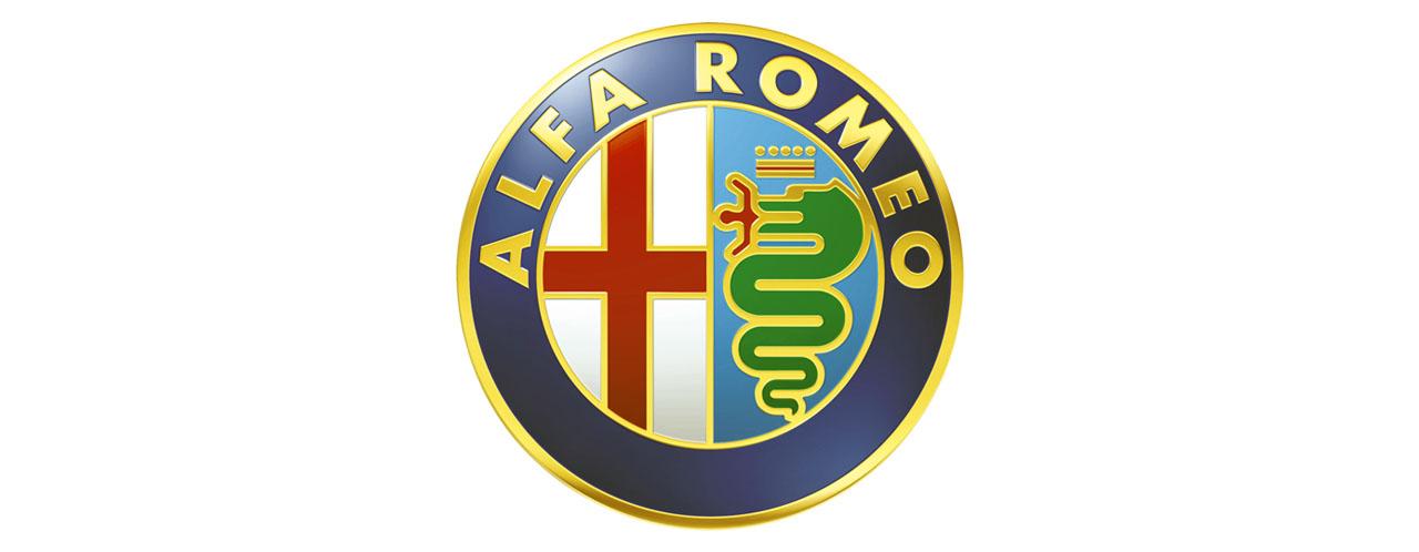 Логотип Alfa Romeo БОЛЬШОЙ