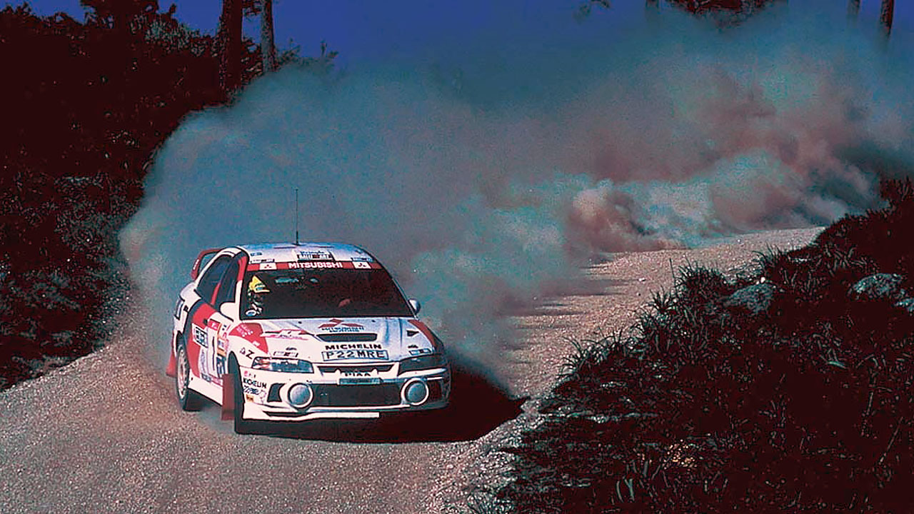 Mitsubishi Lancer Evolution IV WRC