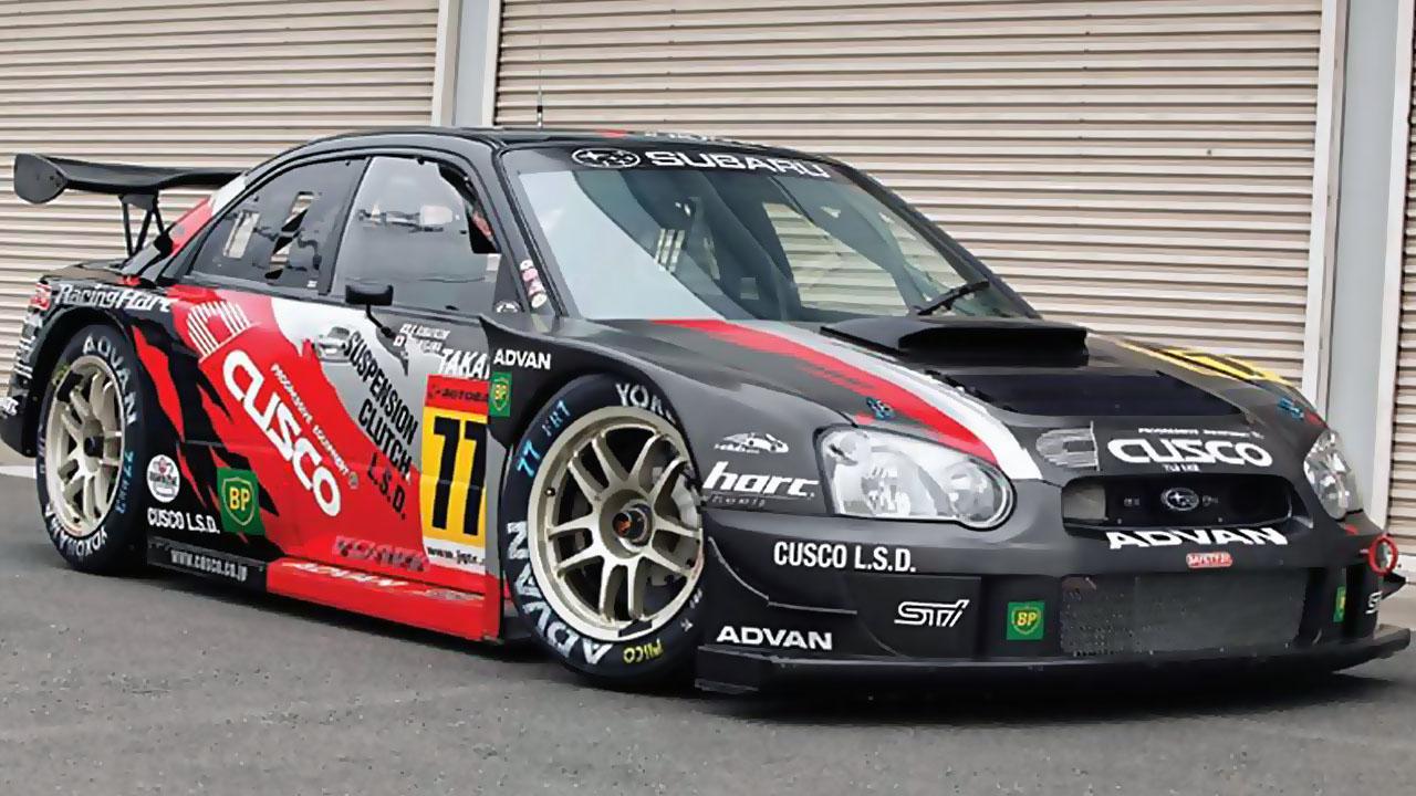 SUBARU GT300 Impreza CUSCO ADVAN 2003