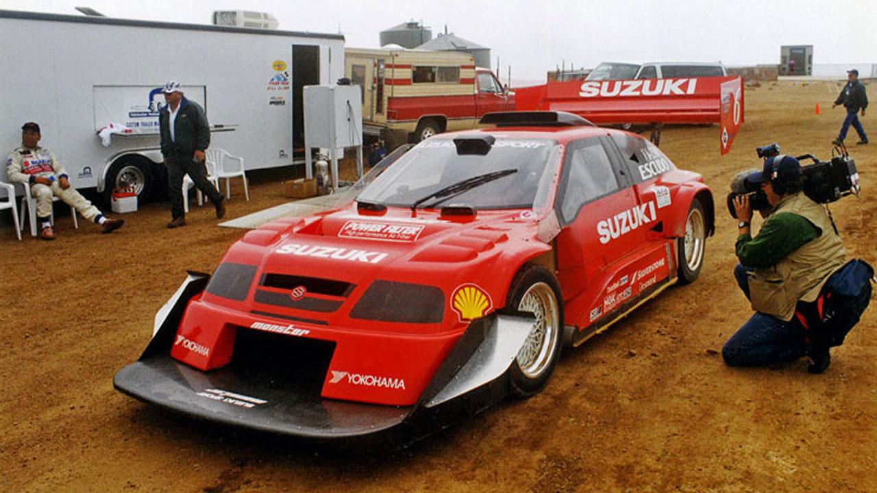 SUZUKI V6 ESCUDO PIKES PEAK SPECIAL - 1998
