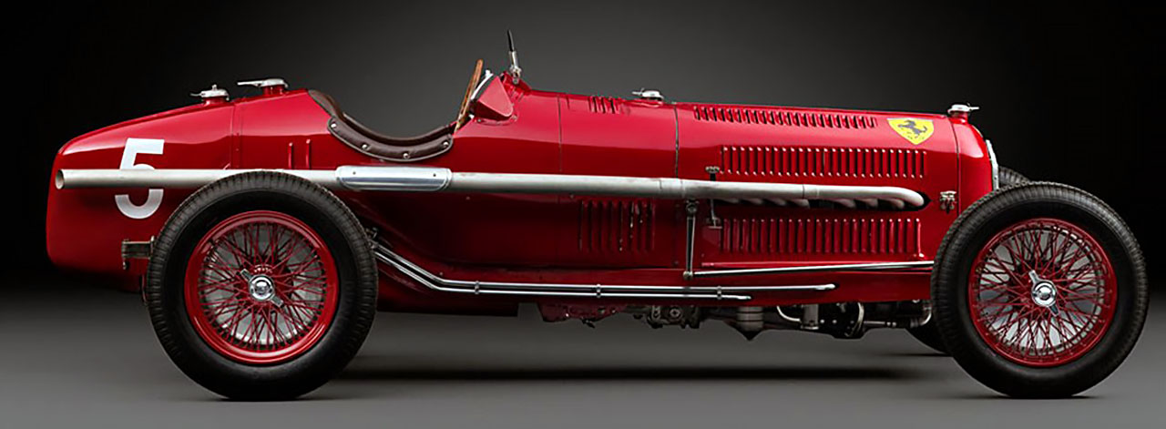 Scuderia Ferrari Alfa-Romeo Tipo B P3 Вид сбоку