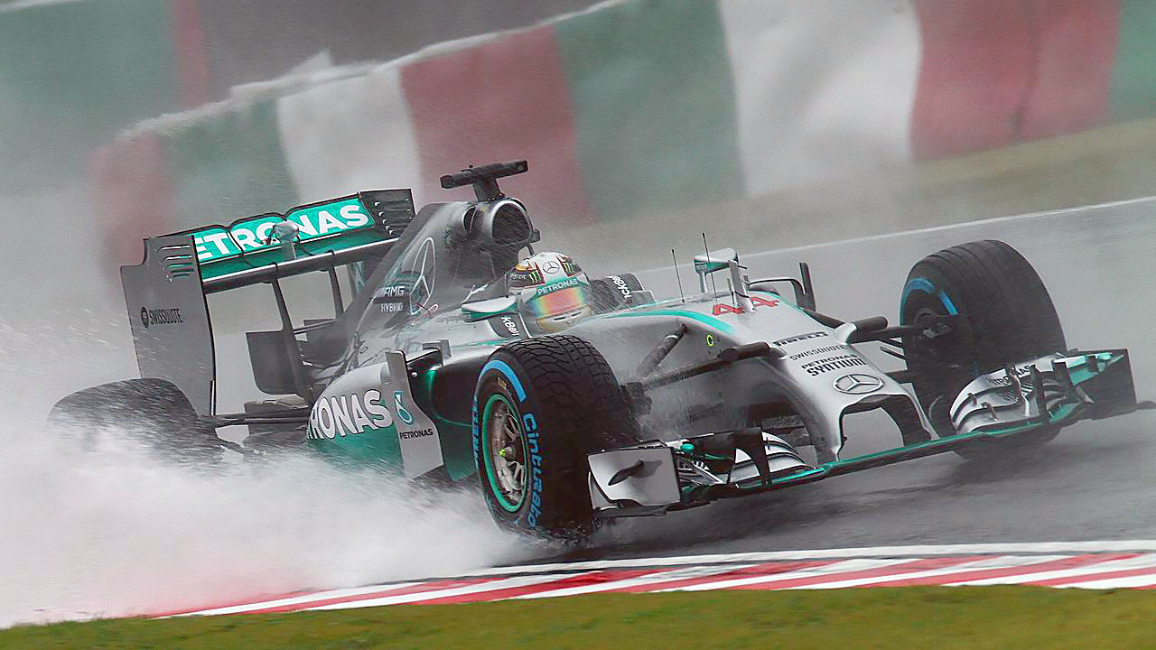 Гран При Японии F1 2014 Lewis Hamilton