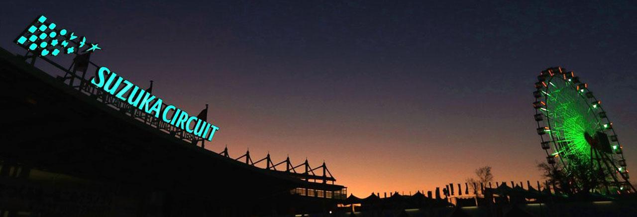 Ночное фото Судзуки