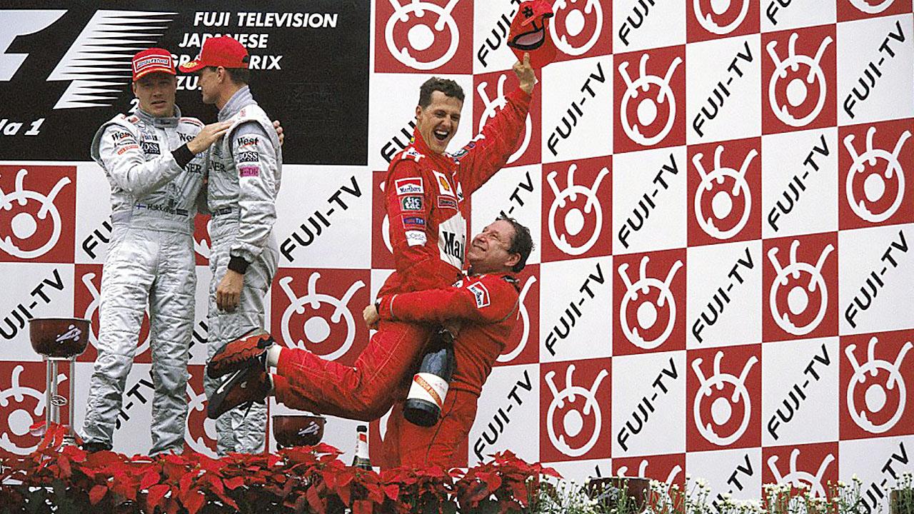 Последняя победа Шумахера