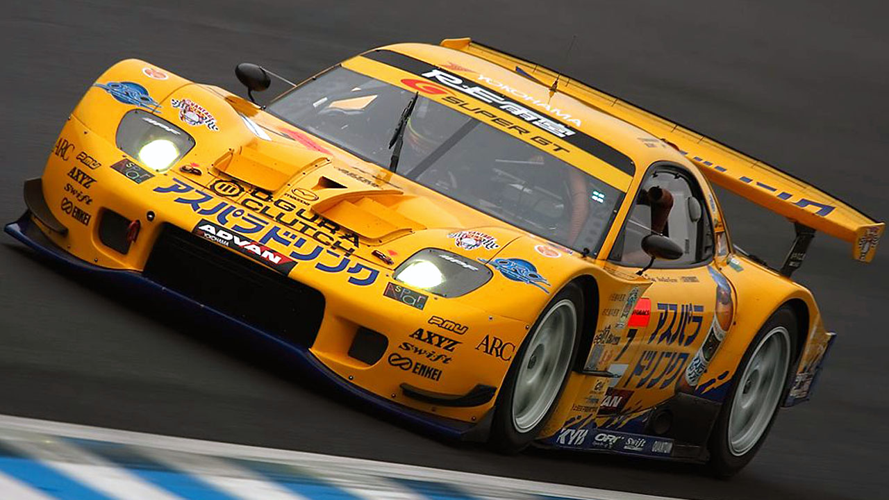 RE Amemiya Super GT Mazda
