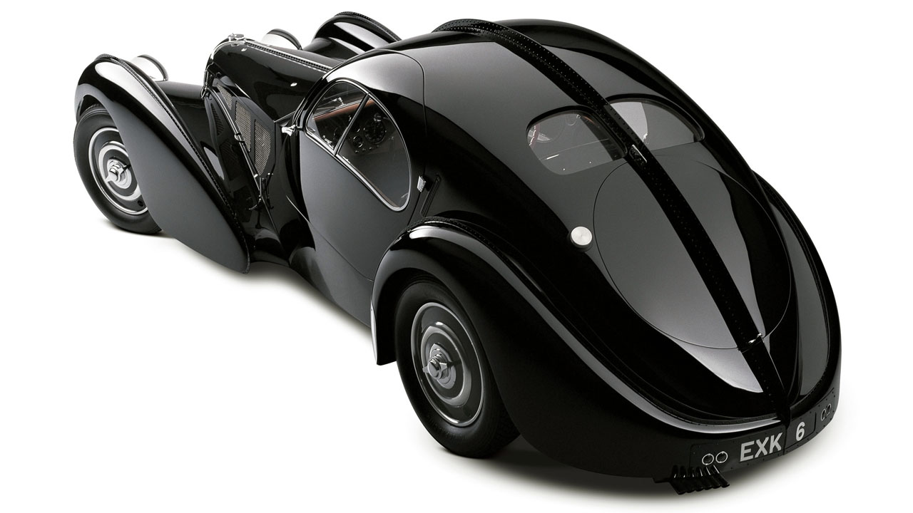 Bugatti Type 57SC Atlantic Сзади