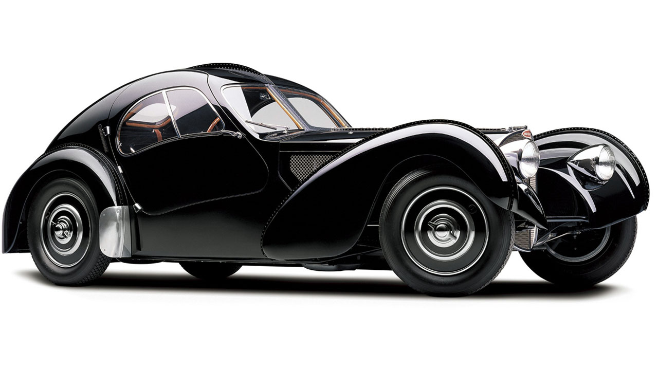 Bugatti Type 57SC Atlantic спереди