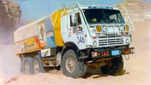 Гоночный Kamaz-4310