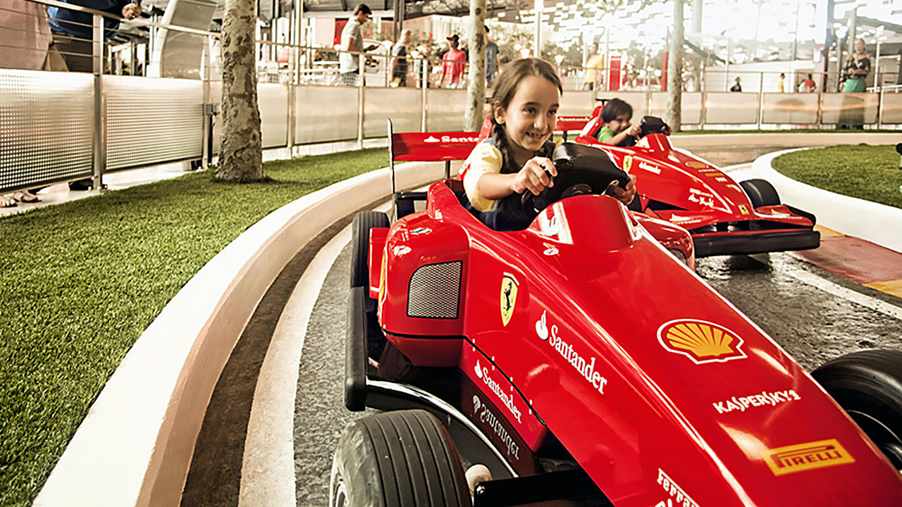 Картинг в Ferrari World