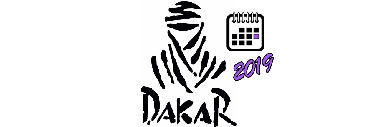 Крупный Логотип календаря ДАКАР 2019