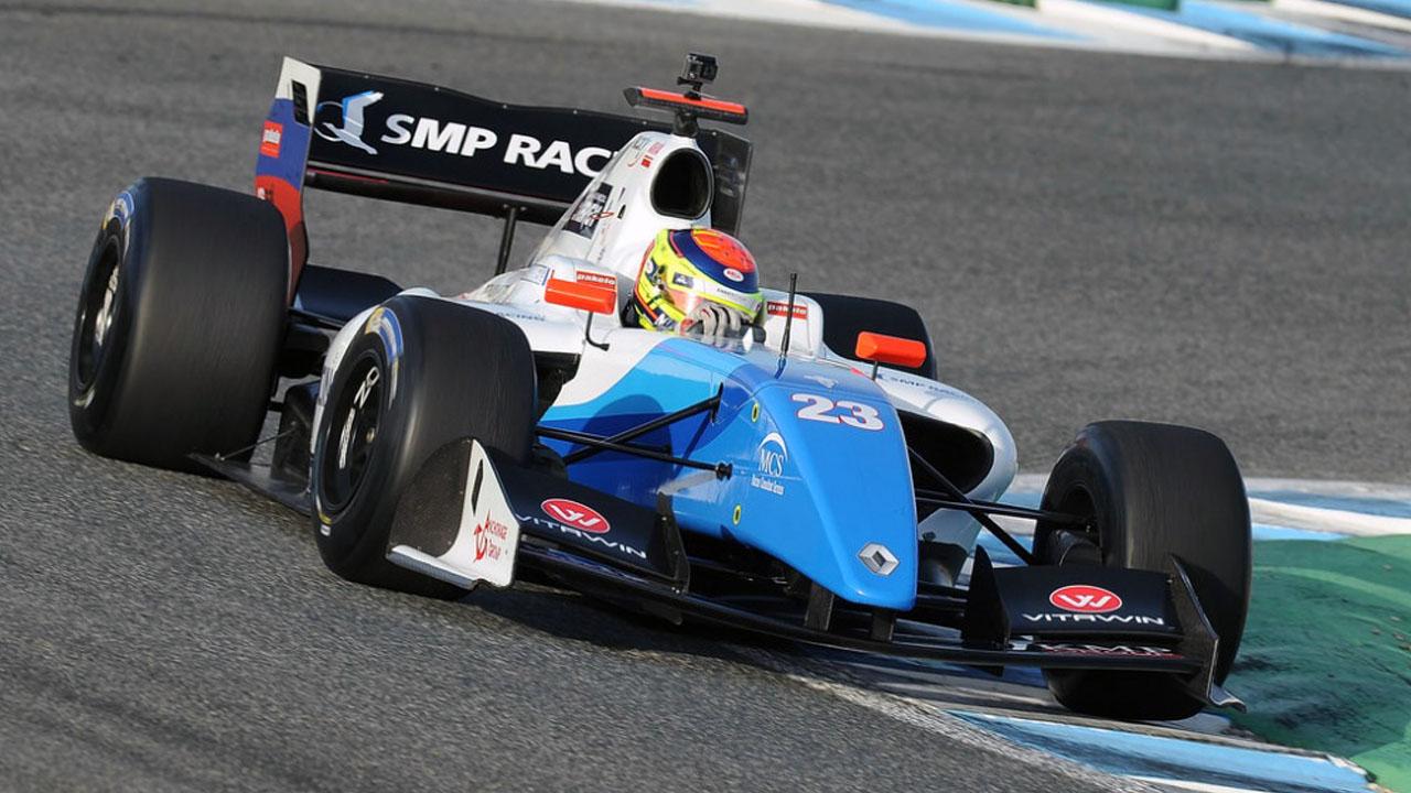 Matthieu Vaxivière - SMP Racing - Dallara FR35-12 - Renault