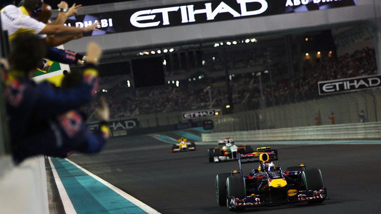 Red Bull в Абу Даби