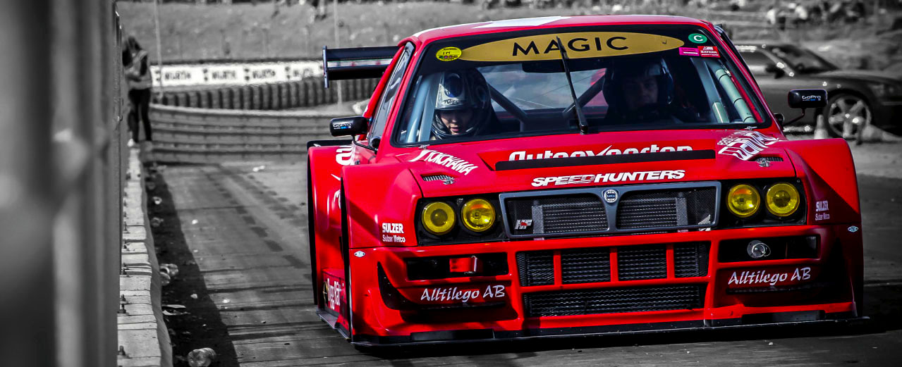 Lancia Delta HF Integrale Time Attack