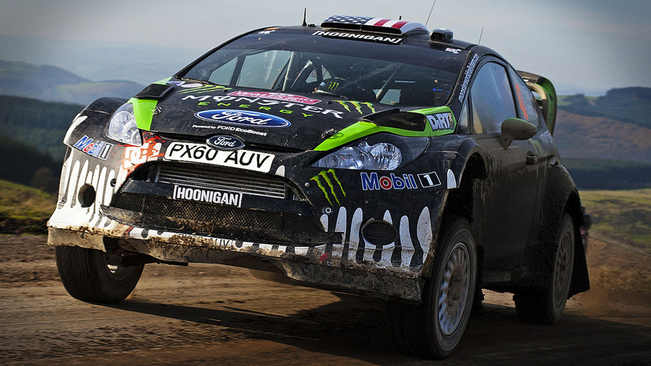 Ken Block - Monster World Rally Team