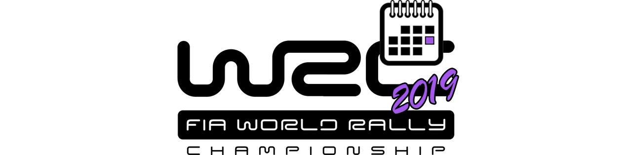 FIA WRC 2019 BIG LOGO Календаря