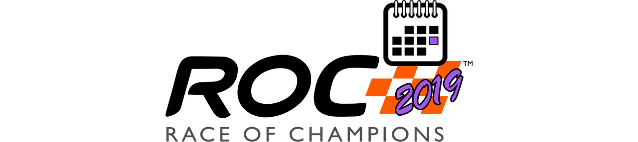 Race Of Champions Calendar 2019 BIG LOGO