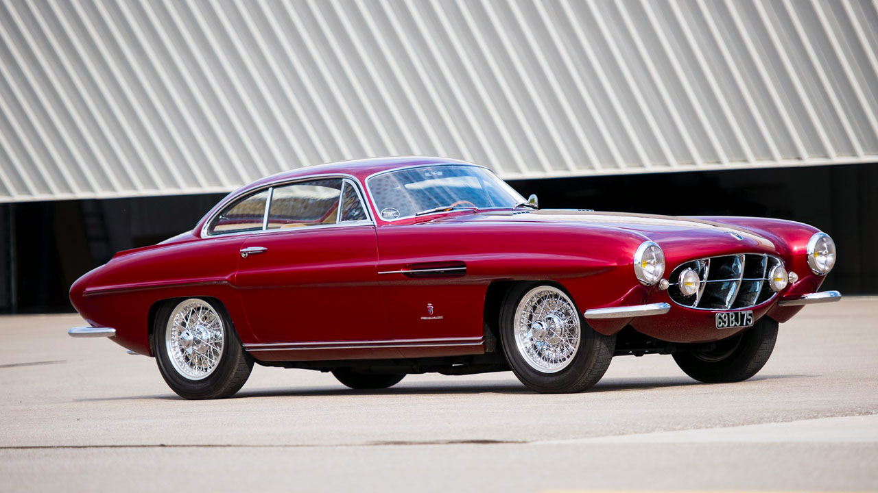 1952 Jaguar XK120 Supersonic by Ghia