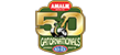 50th Amalie Motor Oil NHRA Gatornationals LOGO 50px
