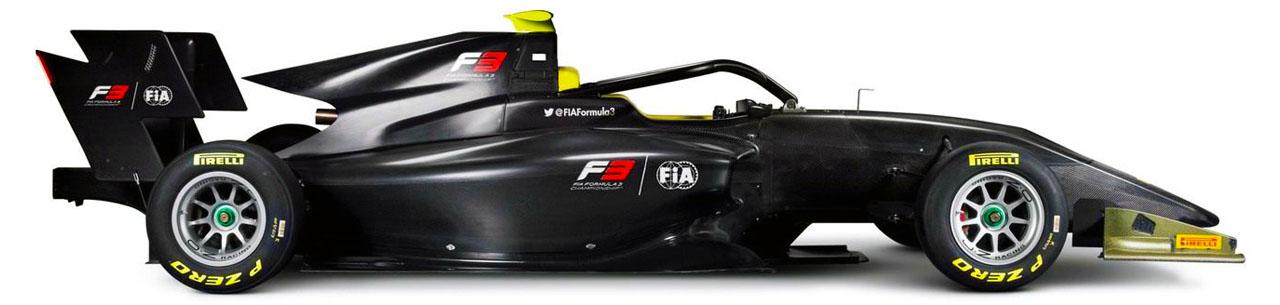 Chassis Dallara F3 2019