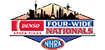 DENSO Auto Parts NHRA Four-Wide Nationals LOGO 50px
