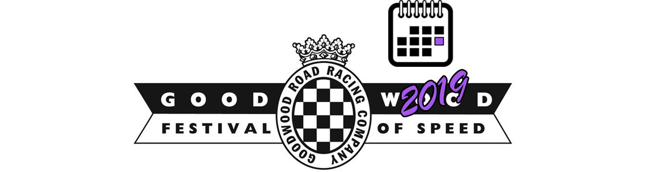 Goodwood Festival of Speed BIG LOGO Календаря 2019
